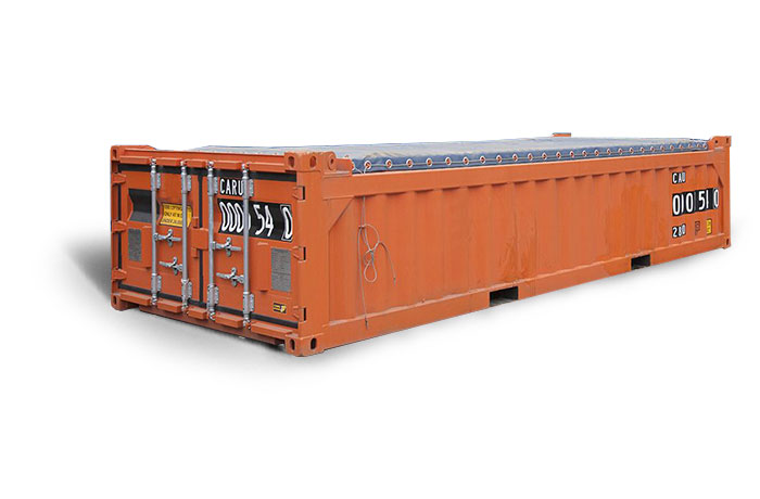 20ft Half Height Shipping Container